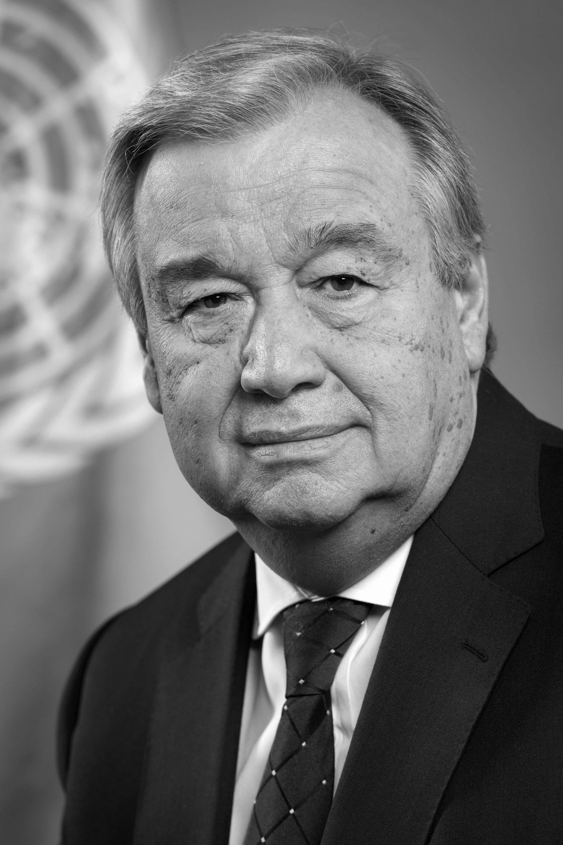 António Guterres Headshot