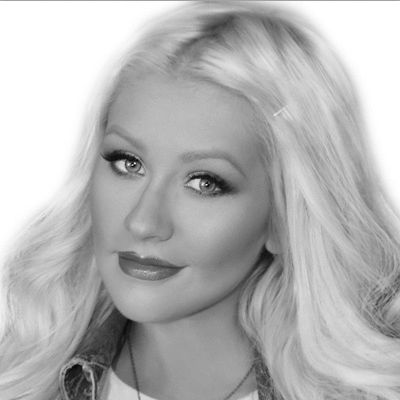 Christina Aguilera Headshot