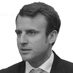 Emmanuel Macron Headshot