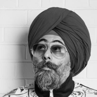 Hardeep Singh Kohli Headshot