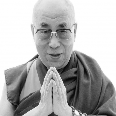 His Holiness the Dalai Lama Headshot