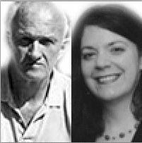 James Ridgeway and Jean Casella