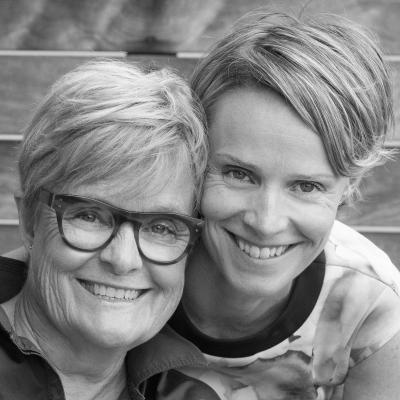 Kirsten Taberner-Siggins and Kathy Taberner