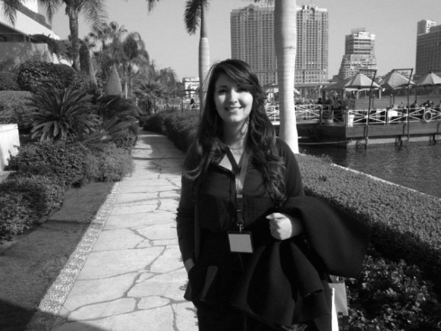Latifa Belarbi-Drij Headshot