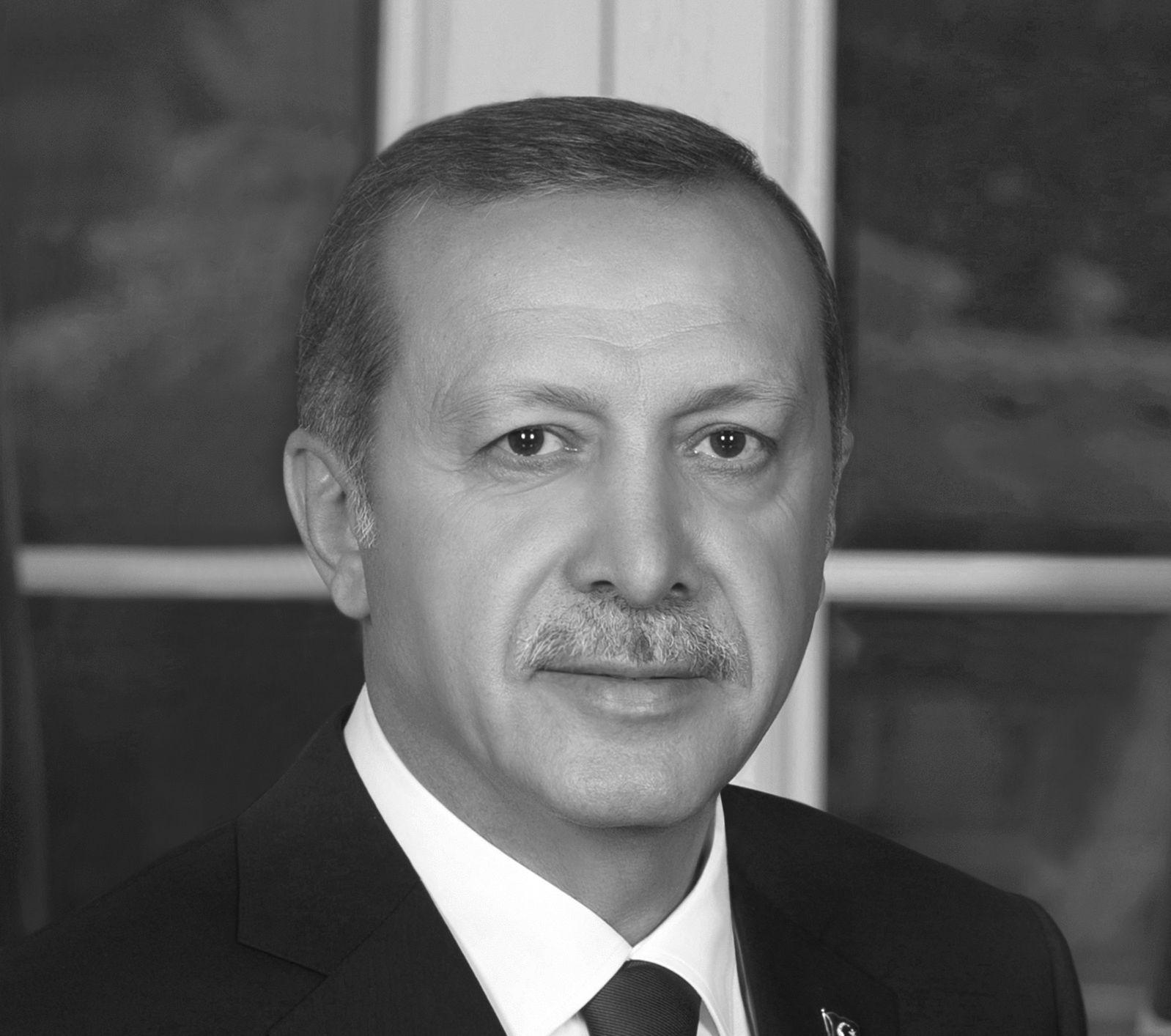 Recep Tayyip Erdogan Headshot