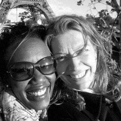 Rosemary Kimani and Claire Rouger