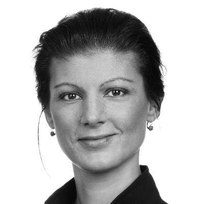 Sahra Wagenknecht Headshot
