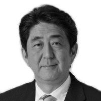 安倍晋三 (Shinzō Abe) Headshot